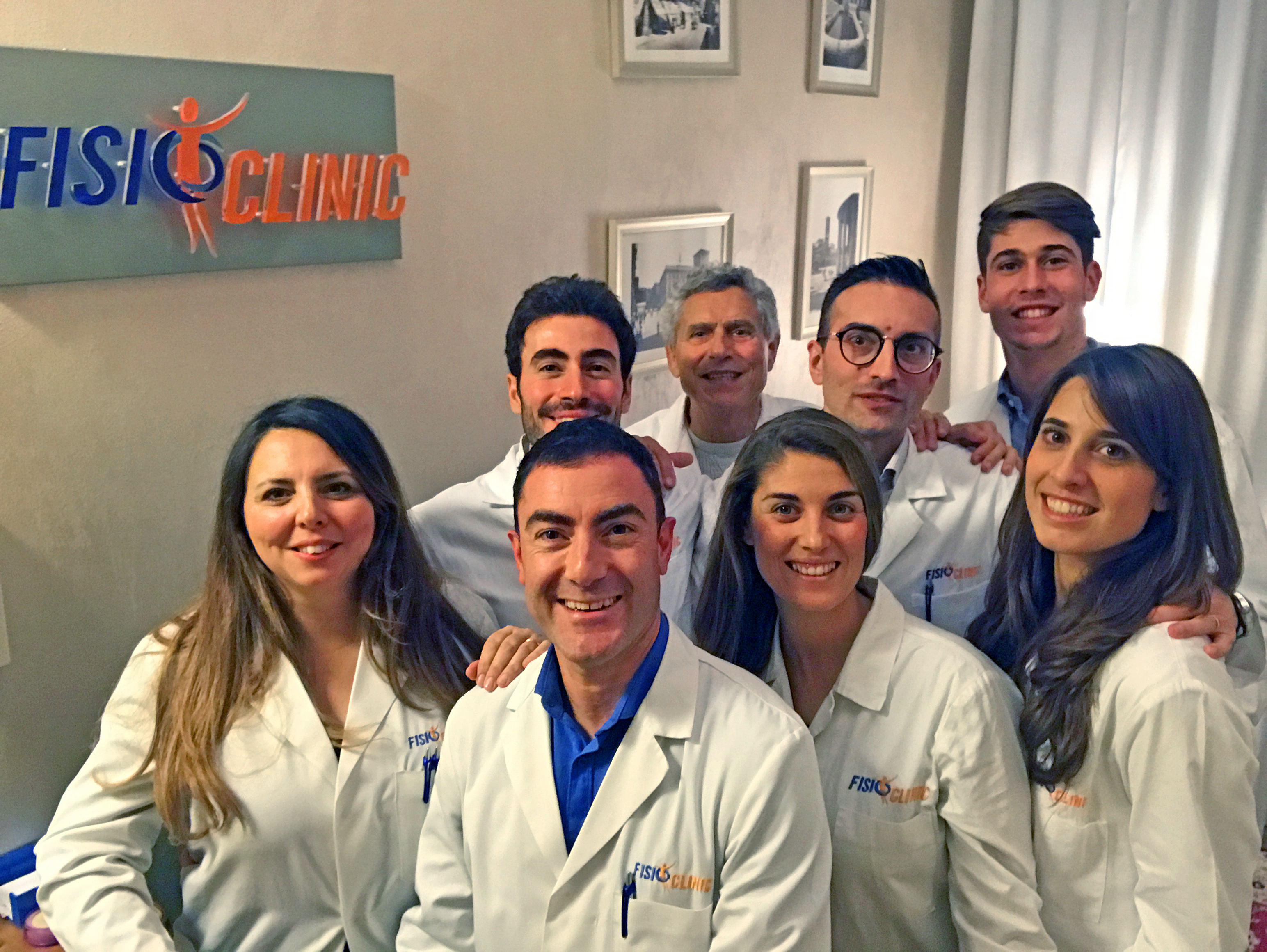 il Team FisioClinic ® Roma