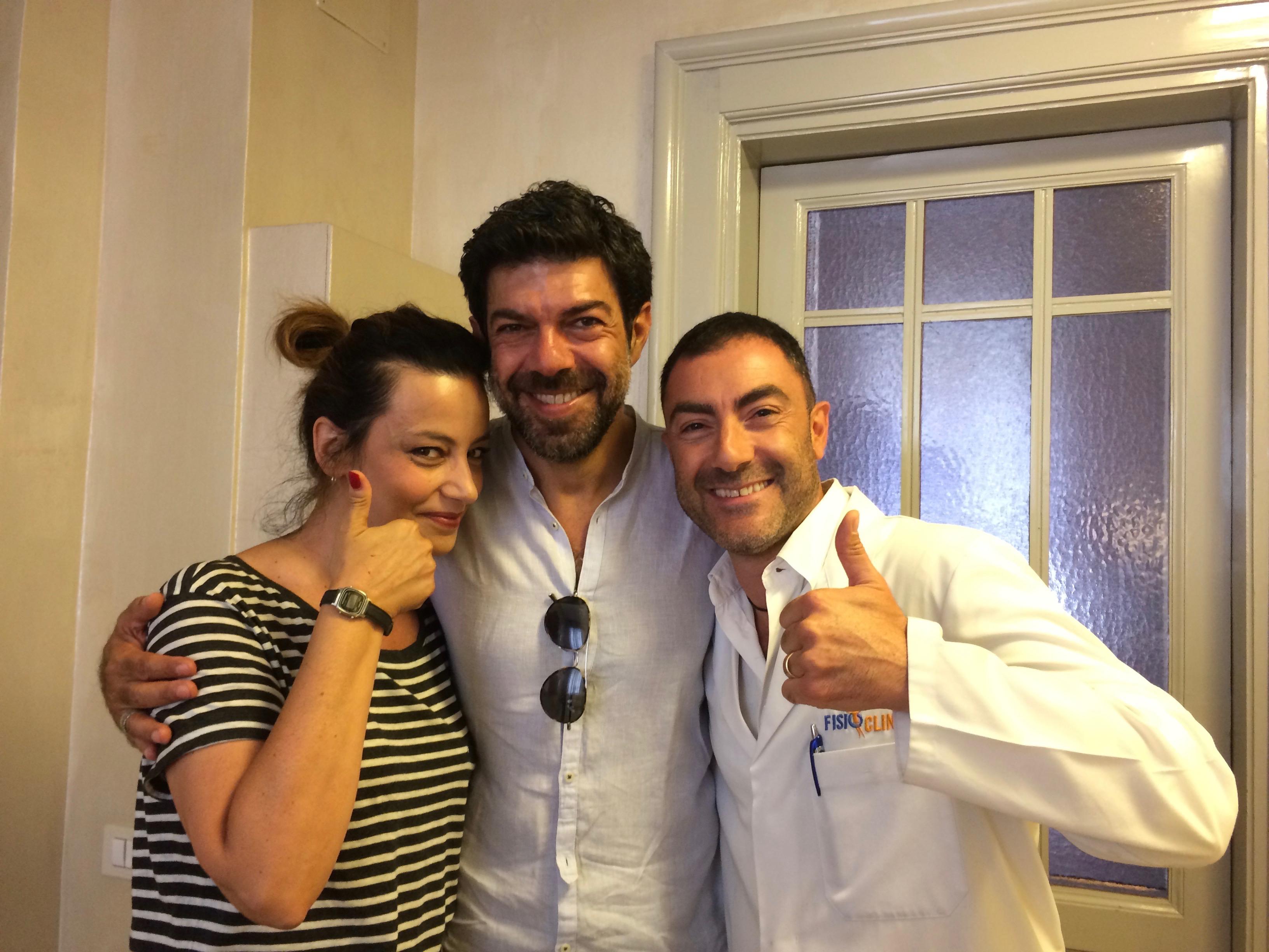Emiliano Grossi Pierfrancesco Favino Alessia barela