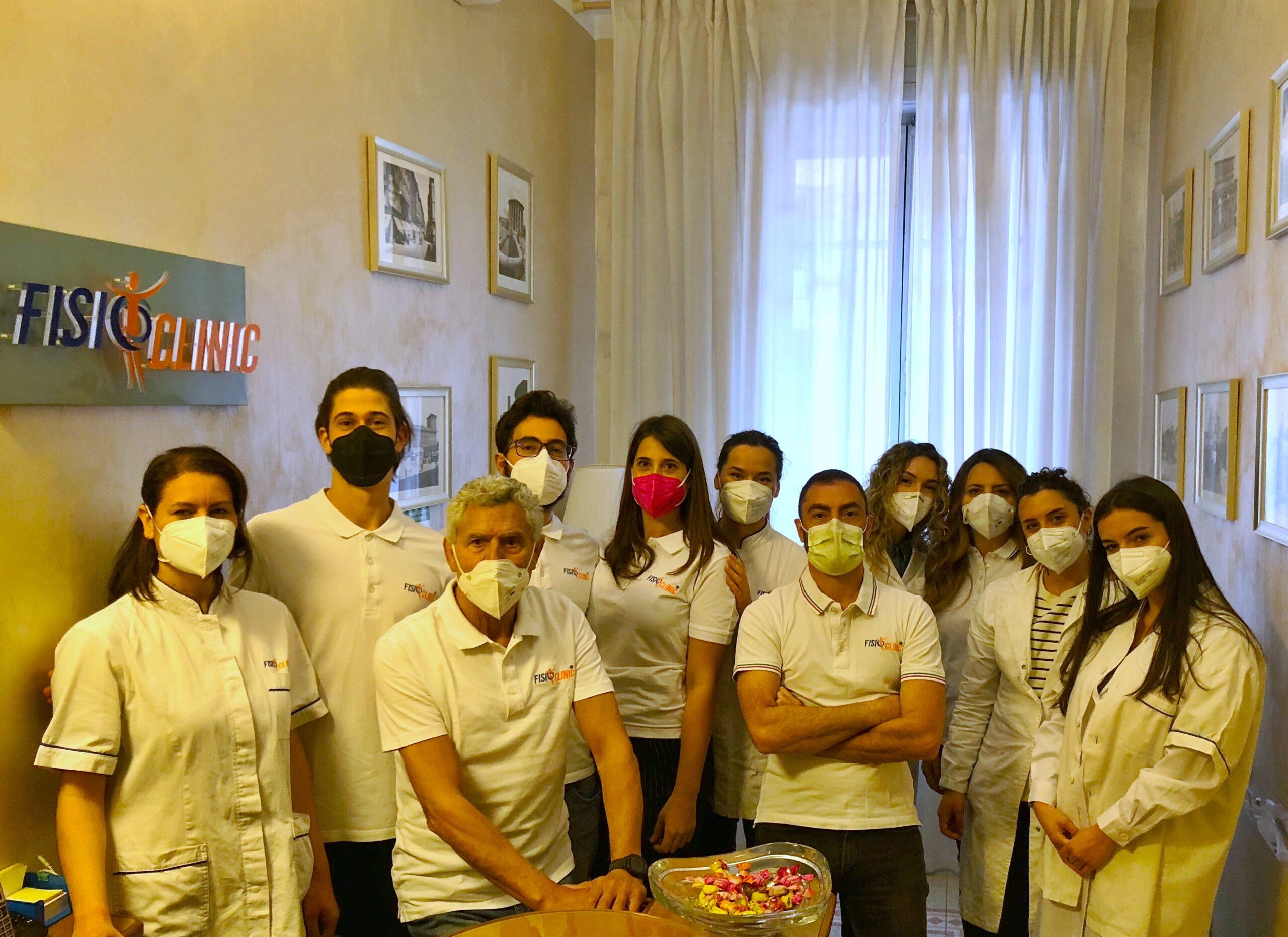 il Team FisioClinic ® Roma
